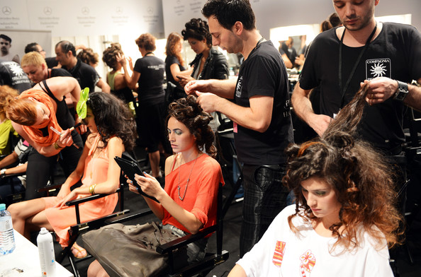 models backstage